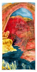 Arizona Rainbow Bath Towel