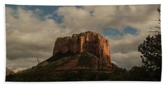 Hand Towel featuring the photograph Arizona Red Rocks Sedona 0222 by David Haskett