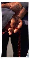 Armenian Prayer Beads Bath Sheet