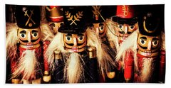 Army Of Wooden Soldiers Bath Towel