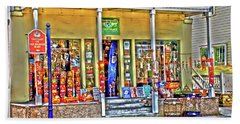 Around The World Marketplace Saint Augustine Hand Towel