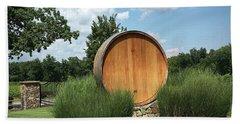 Arrington Vineyards Oaken Barrel  Hand Towel