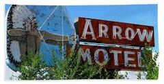 Arrow Motel Bath Towel