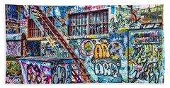 Art Alley 2 Bath Towel