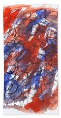 Art Doodle No. 28 Bath Towel