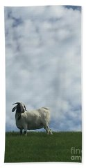 Art Goat Bath Towel