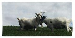 Art Goats I Bath Towel