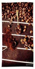 Art In Coffee Process  Hand Towel