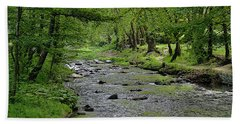 Art In The Forest Bath Towel