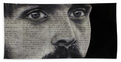 Art In The News 95-steve Prefontaine Hand Towel