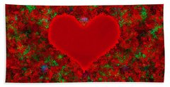 Art Of The Heart 2 Hand Towel by Anton Kalinichev