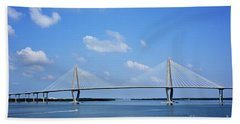 Arthur Ravenel Jr. Bridge - Charleston Bath Towel