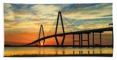 Arthur Ravenel Jr. Bridge - Charleston Sc Hand Towel