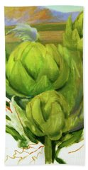 Artichoke  Unfinished Hand Towel