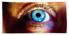 Artist Eye View Hand Towel