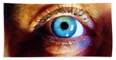 Artist Eye View Bath Towel
