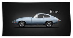 The 65 E-type Coupe Hand Towel