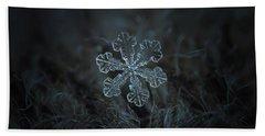 Snowflake Photo - Vega Hand Towel