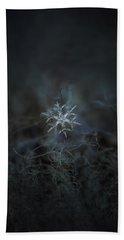 Snowflake Photo - Rigel Hand Towel by Alexey Kljatov