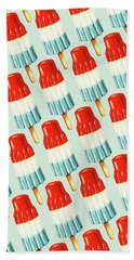 Bomb Pop Pattern Hand Towel by Kelly Gilleran