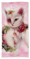 Love Is In The Air Hand Towel by Sheena Pike