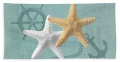 Nautical Stars Bath Towel