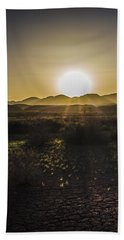 Hand Towel featuring the photograph Chupadera National Recreation Trail by Bill Kesler