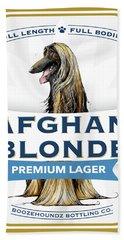 Afghan Blonde Premium Lager Hand Towel