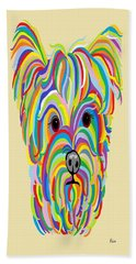 Yorkshire Terrier ... Yorkie Bath Towel