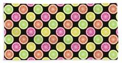 Colorful Citrus Slices Hand Towel