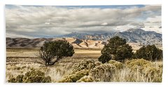 Great Sand Dunes National Park And Preserve Bath Towel by Bill Kesler