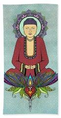 Electric Buddha Hand Towel by Tammy Wetzel