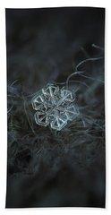 Snowflake Photo - Alcor Hand Towel