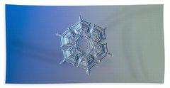 Snowflake Photo - Ice Relief Hand Towel