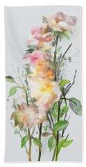 Wild Roses Hand Towel