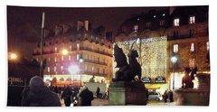 Place Saint-michel Bath Towel by Felipe Adan Lerma