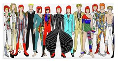Outfits Of Bowie Hand Towel