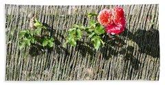 Floral Escape Bath Towel by Ivana Westin