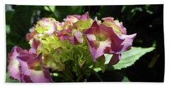 Hydrangea Flowers Fit For A Fairy Bath Towel