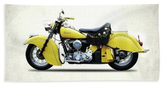 Indian Chief 1951 Hand Towel by Mark Rogan