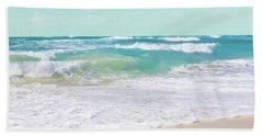 Hand Towel featuring the photograph The Ocean by Sharon Mau