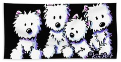 Kiniart Pocket Pawsse Bath Towel