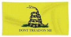 Gadsden Dont Tread On Me Flag Authentic Version Hand Towel