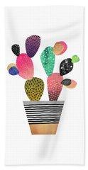 Happy Cactus Hand Towel