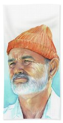 Bill Murray Steve Zissou Life Aquatic Hand Towel