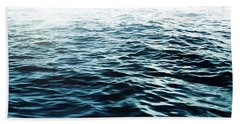 Bath Towel featuring the photograph Blue Sea by Nicklas Gustafsson