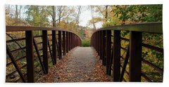 Thompson Park Bridge Stowe Vermont Bath Towel