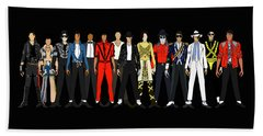 Outfits Of Michael Jackson Hand Towel
