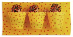 Spotted Pots Hand Towel