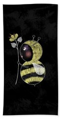 B Is For Bumble Bee Hand Towel